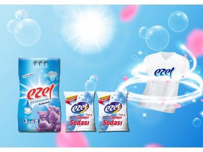 Ezel Premium Beyazlar İçin Toz Çamaşır Deterjani 3KG