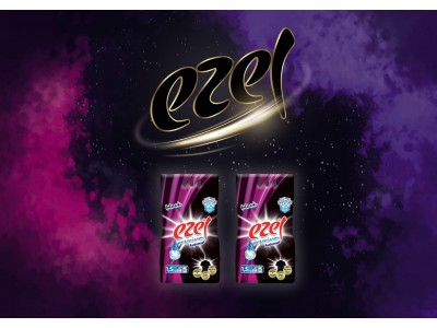 Ezel Black Toz Çamaşır Deterjanı 2 adet 1.5 KG