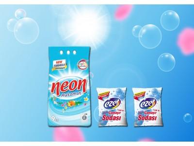 Neon Renkli Beyaz 9 Kg 2 Adet Soda